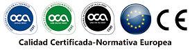 sellos de calidad certificada y normativa europea