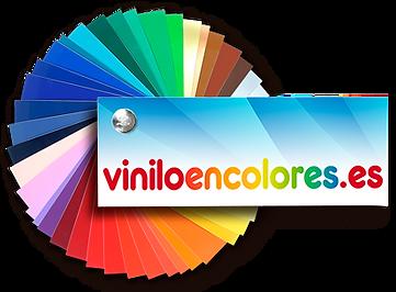 logotipo en carta de colores de vinilo