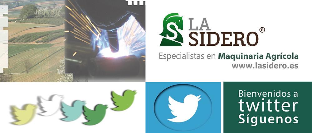 maquinaria agrícola la sidero en twitter
