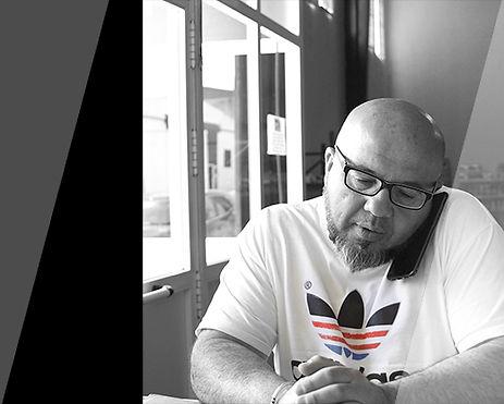 Dirección de almacenes Turrones La Gran Familia.. Agustín Ramírez