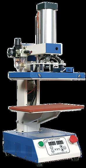 foto con prensa automática y neumática Modelo TN1 para transfer plano