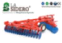 logotipo La Sidero y grada de discos