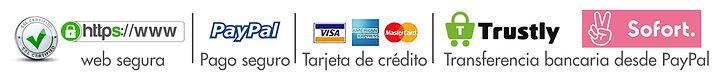 pago por paypal y transferencia