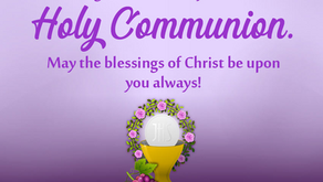 First Holy Communion Congratulations