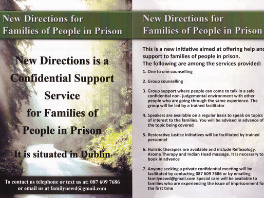 New Directions for Families of People in Prison