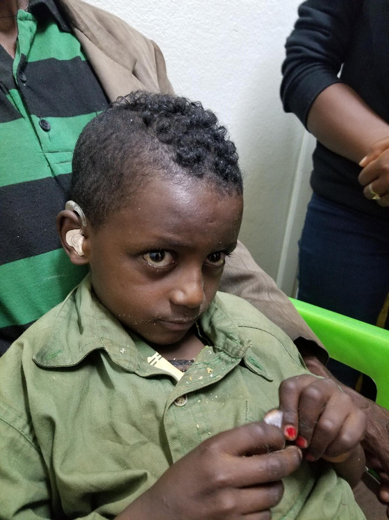 Audiology training is initiated in Ethiopia through the Ethio American Hearing Project