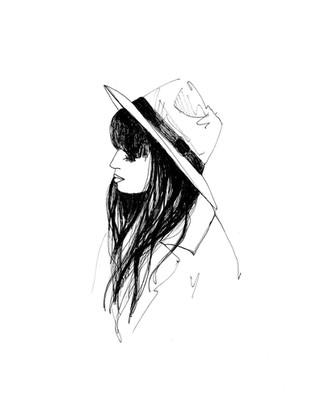 illustratio-fille-au-chapeau