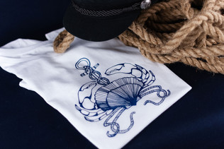 gourmandise-tshirt-bleu-marine-silowane