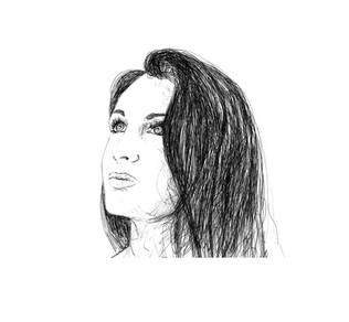 autoportrait illustration