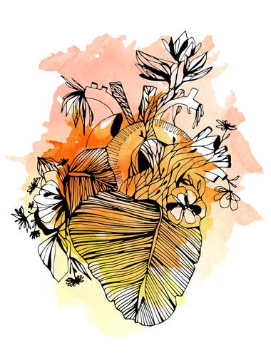 illustration-bananier-aquarelle