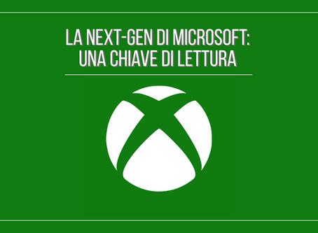 La next-gen di Microsoft: una chiave di lettura