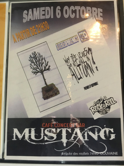 Live au Mustang Bar