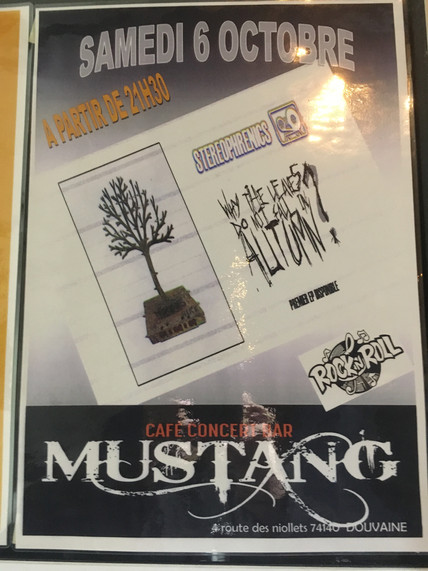 Live au Mustang Bar