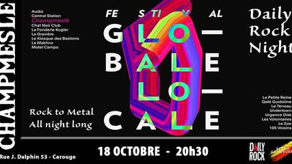FESTIVAL GLOBALE-LOCALE organisé par DAILY ROCK