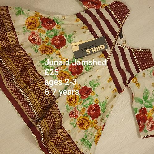 Junaid Jamshed kurta (age 2-3 years and 6-7 years)