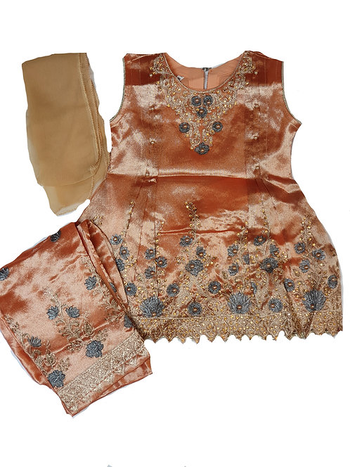 3-piece browny gold