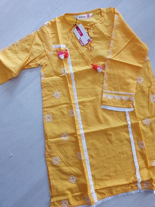 KHAADI Kurta yellow
