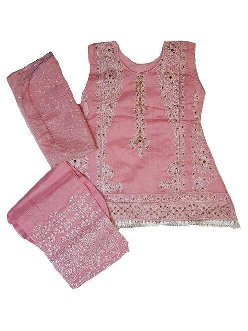 Pink Paper Cotton 3-piece