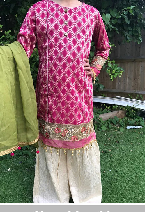 Mona by Allys 3-piece gharara