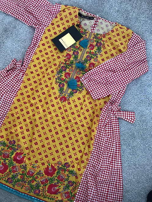 KHAADI KIDS KURTA (7-8, 8-9 and 9-10 years)