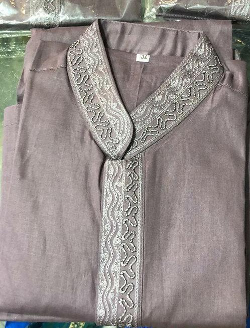 Purple shalwar kameez