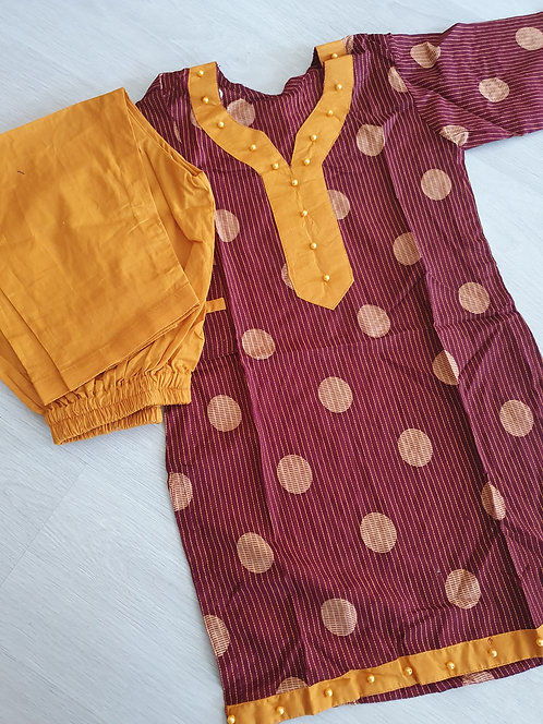 2 piece (age 2 years and 4 years)