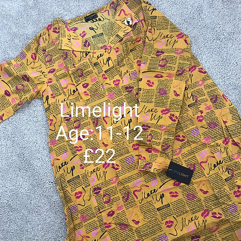 LIMELIGHT KURTA (11-12 years)