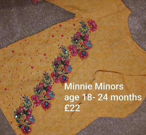 Minnie Minors kurta (18-24 months)