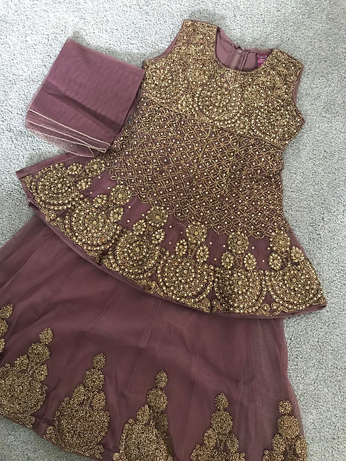 3-piece lengha (3-4 years)