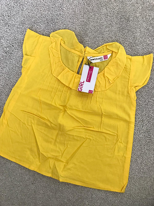 Khaadi  top (4-5 years)