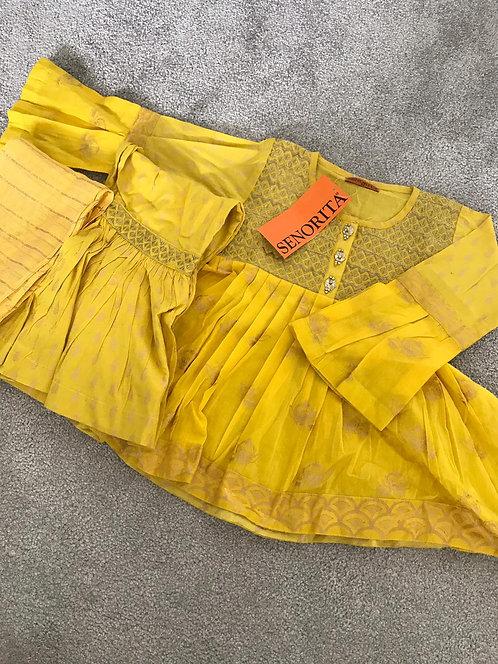 SENORITA 3-piece gharara suit (size 18) and size ( 22)