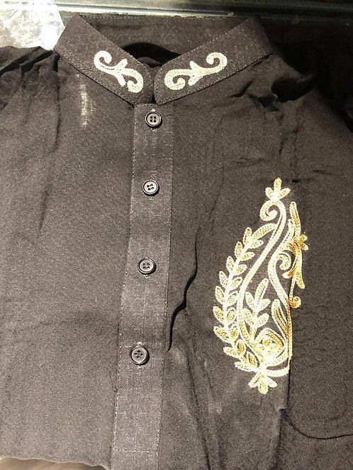 Embellished kurta with bottoms