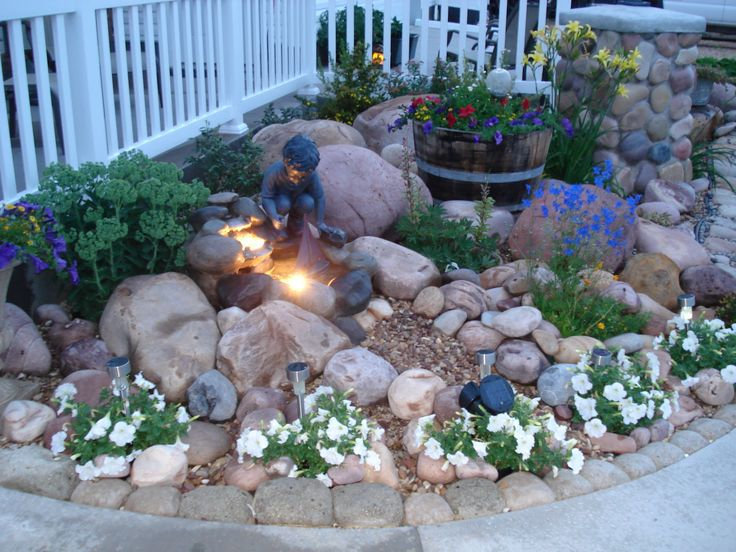 rock-garden-around-fountain-ideas-rock-g