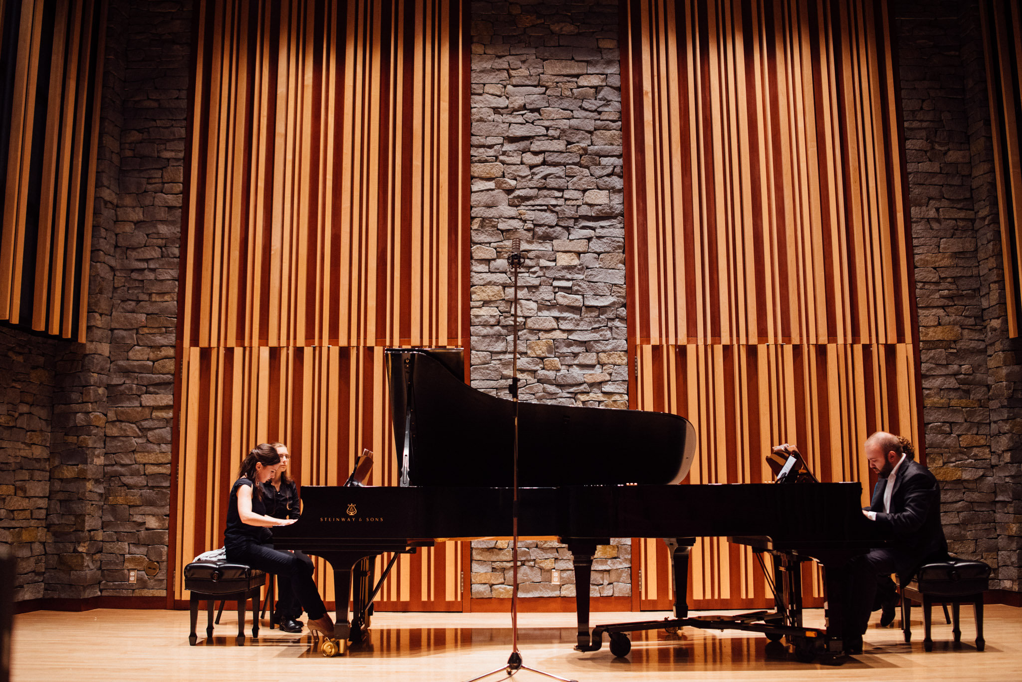 Fedorova-Takser Piano Duo Recital
