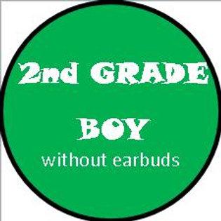 2nd Grade - BOY w/OUT headphones