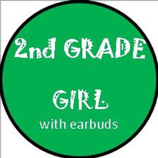 2nd Grade - GIRL w/headphones