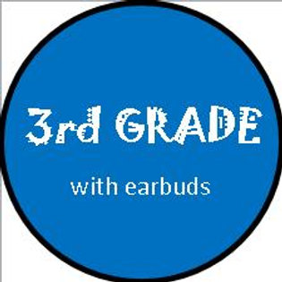 3rd Grade Girl -WITH Earbuds