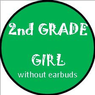 2nd Grade - GIRL w/OUT heaphones