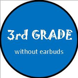 3rd Grade BOY - w/OUT earbuds