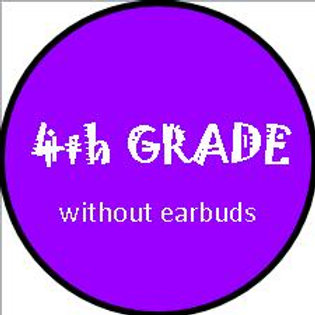 4th Grade - w/OUT Earbuds