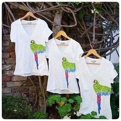 Nach Parrot tshirt