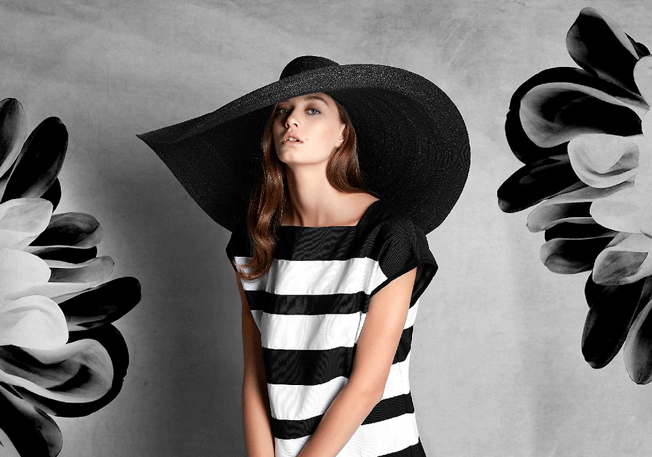 axel mano large black hat