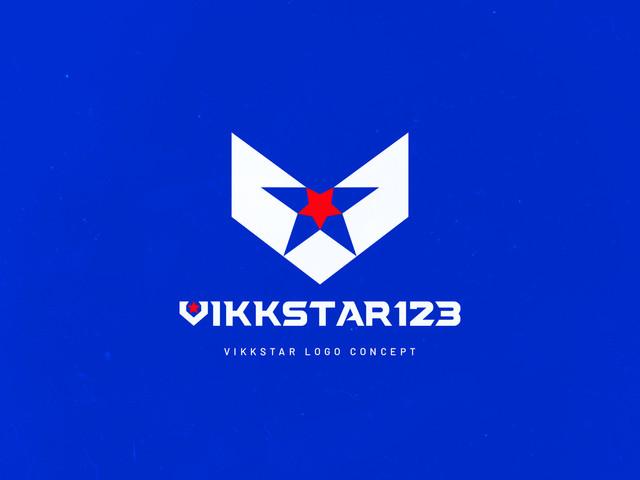Vikkstar123 Logo Concept