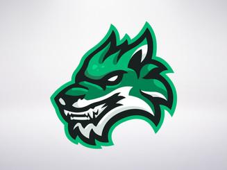 Green Dire Wolf