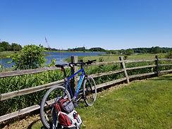 des plaines river trail bike taxi