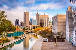 Indianapolis, Indiana, USA downtown skyl