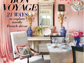 Montana Ave. Interiors is excited to be published in French Style Magazine