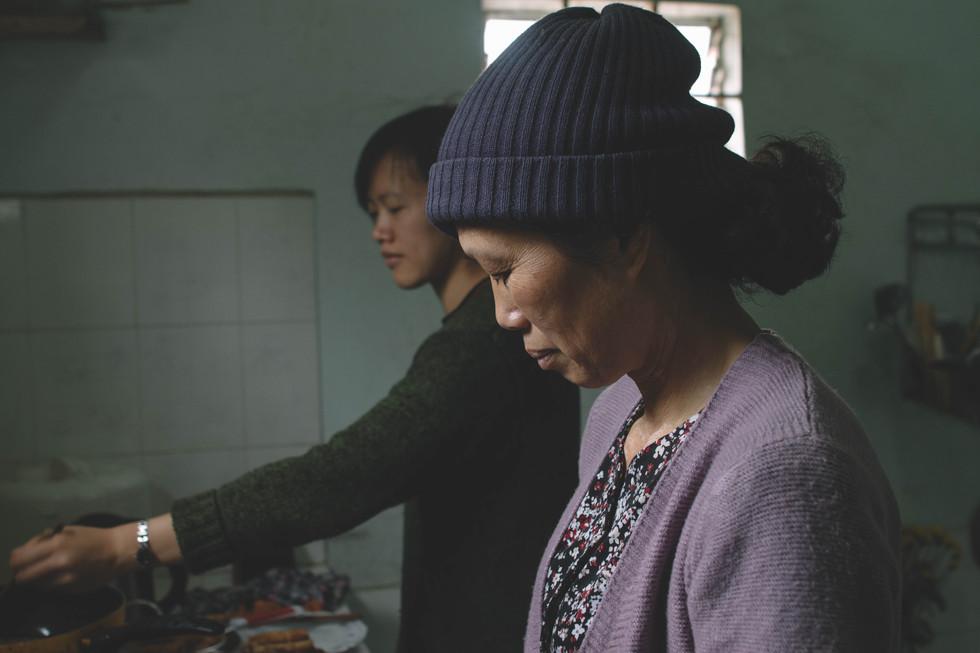 Uyen et sa mère
