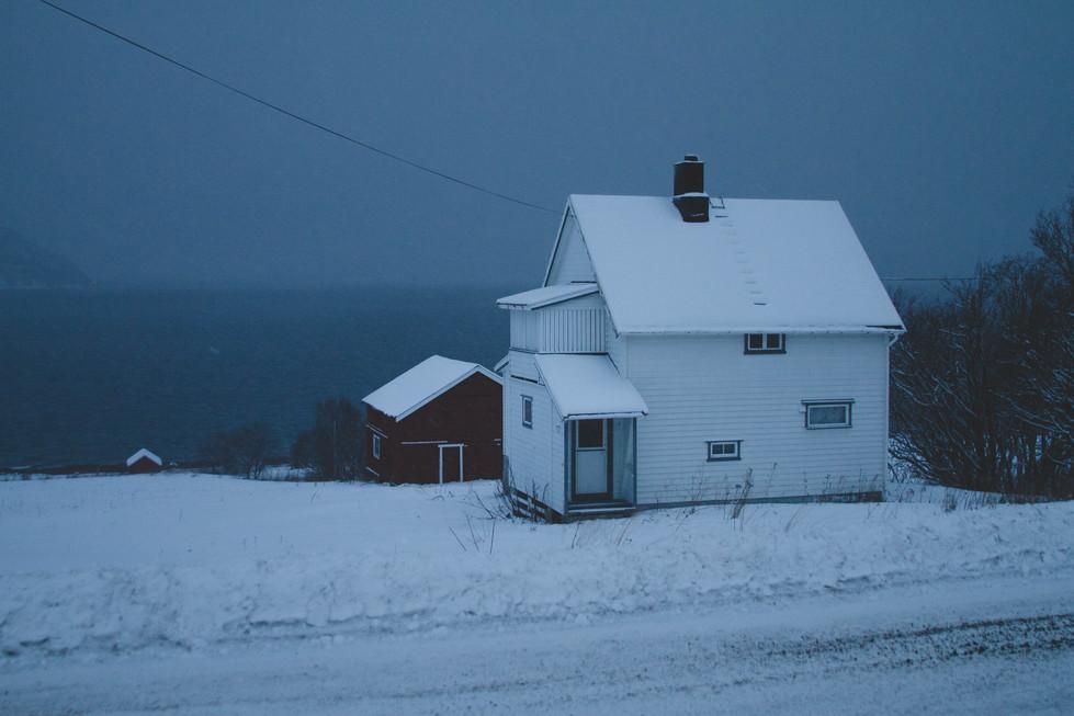 Balade nocturne dans Olderdalen