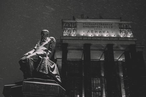 Un hiver à Moscou